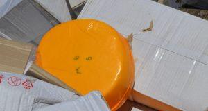 В Саках уничтожили 45 кг сыров