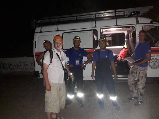 За прошедшие сутки «КРЫМ-СПАС» оказал помощь 8 туристам в горно-лесной местности