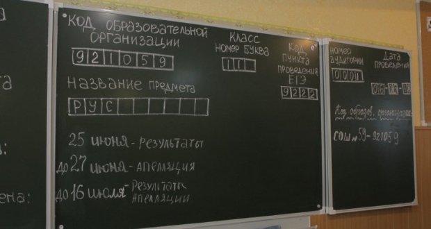 Выпускники школы Севастополя готовятся к повторной сдаче Государственной итоговой аттестации