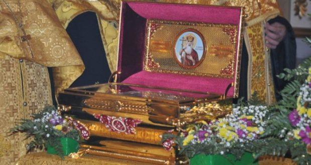 В Крыму находится ковчег с частицей мощей святителя Димитрия Ростовского