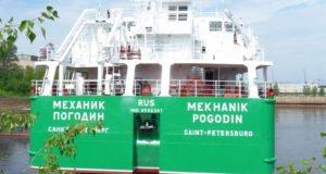 В порту Херсона в российский танкер «Механик Погодин» врезалась украинская моторная лодка