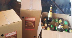 В пгт. Черноморское торговали алкоголем и без документов, и без ККТ