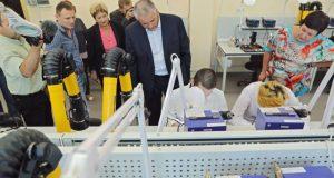 Сергей Аксёнов в Симферополе посетил республиканские колледжи и профтехучилища