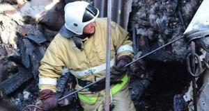 Пожар в Красногвардейском районе Крыма