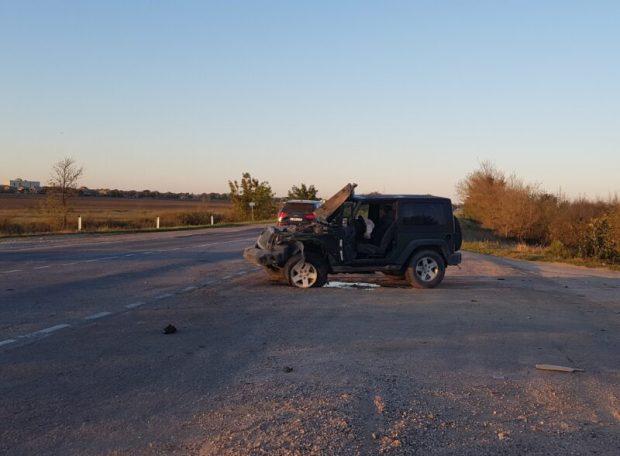 ДТП на трассе «Симферополь – Джанкой». Джип не пропустил ВАЗ