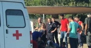 На трассе «Симферополь – Ялта» на пешеходном переходе сбили женщину с детьми
