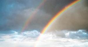 Керчане утром наблюдали сразу две радуги. К счастью!