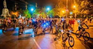 """22 сентября в Севастополе - велофестиваль """"ВелоНочь"""""""
