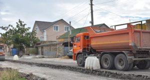 В симферопольском микрорайоне Каменка начато строительство автодороги