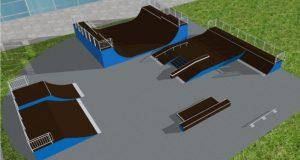 В Судаке строят скейт-парк
