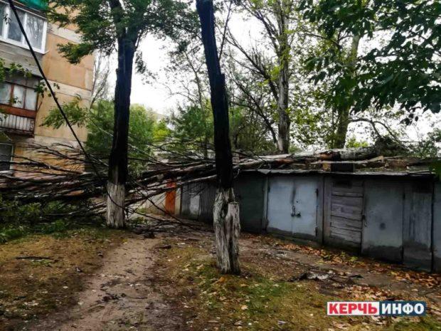 Ураган в Керчи