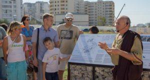 В Севастополе презентовали территорию Усадьбы надела №9 хоры Херсонеса