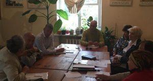 Депутаты севастопольского «Добровольца» провели очередной прием граждан