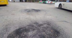 Ямочный ремонт в Симферополе: счет пошел на квадратные километры