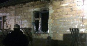 В Симферопольском районе сгорел жилой дом