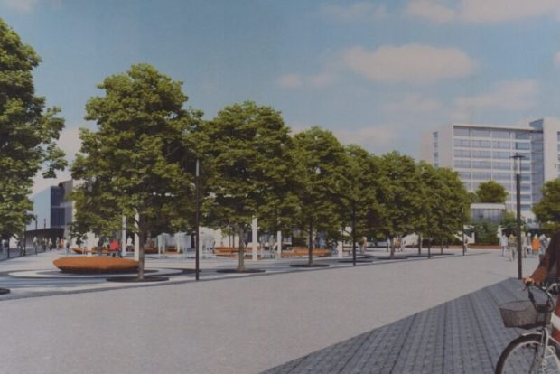 Что останется на площади Куйбышева в Симферополе после реконструкции
