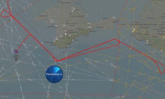 Самолет ВВС США провел очередную разведку вблизи границ России на Черном море
