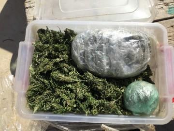 """Евпаторийцу """"светит"""" срок в 20 лет - нашли почти полтора килограмма марихуаны"""