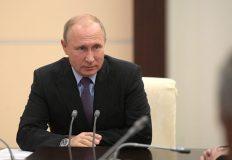 Президент России Владимир Путин поздравил преподавателей и студентов КФУ имени Вернадского