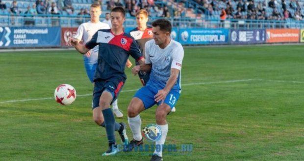 «Севастополь» повержен, симферопольская «ТСК-Таврия» упрочила лидерство в футбольном первенстве