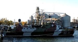 В Киеве отрапортовали о «мощном» боевом корабле в Азовском море, оказалось старый сторожевик