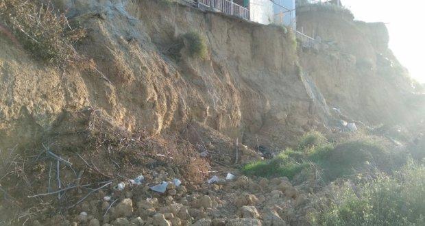 На Северной стороне Севастополя эксперты обследовали оползневые участки