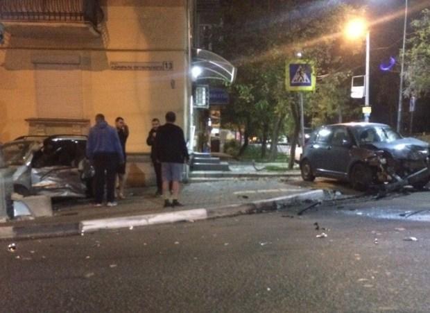Ночное ДТП в Севастополе. Пустая дорога – не гарантия от столкновения