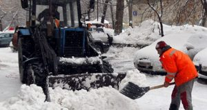 Симферополь готовится бороться с зимой