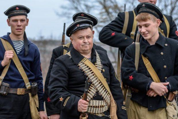 """17 ноября в селе Камышлы """"немцы"""" будут штурмовать Севастополь"""