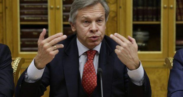 Сенатор Пушков: от заклинаний Порошенко Крым на Украину не вернётся