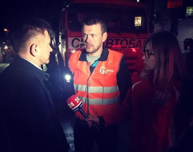 Министр транспорта Крыма проверил, ведутся ли дорожные работы в Симферополе круглосуточно
