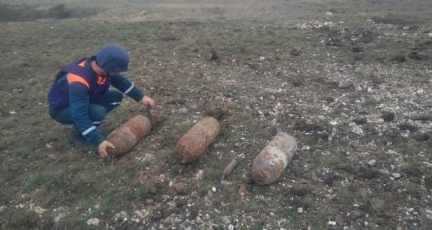 В Ленинском районе обнаружили 4 авиабомбы