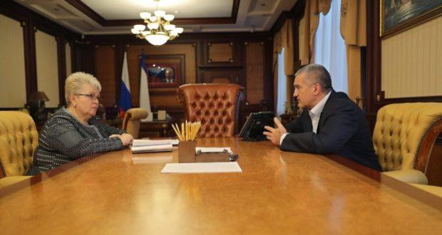 Всё у нас получится. Аксёнов встретился с врио главы администрации Симферополя Натальей Маленко