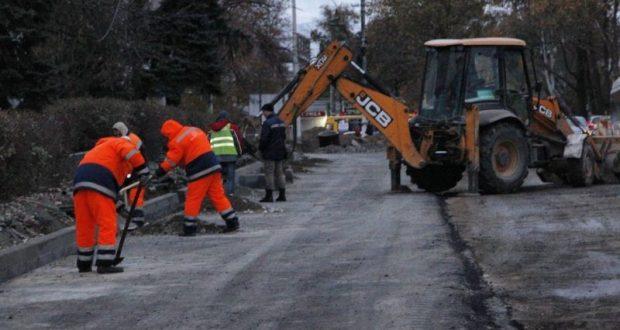 Ремонт дорог в Симферополе завершится 20 декабря