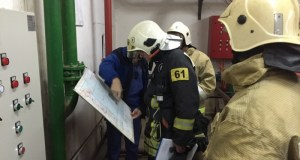 В симферопольском ТЦ «Южная галерея» в понедельник тушили пожар. Условный