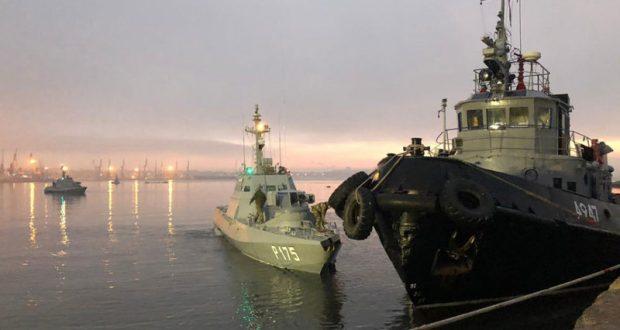 В СБУ признали: два сотрудника военной контрразведки были на задержанных бронекатерах ВМСУ