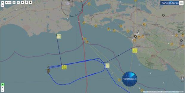 Самолет ВМС США провел разведку вблизи Керченского пролива