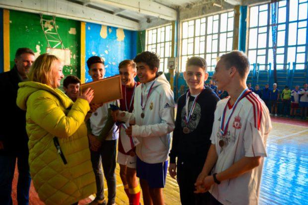 В Крыму определили лучшую дворовую футбольную команду