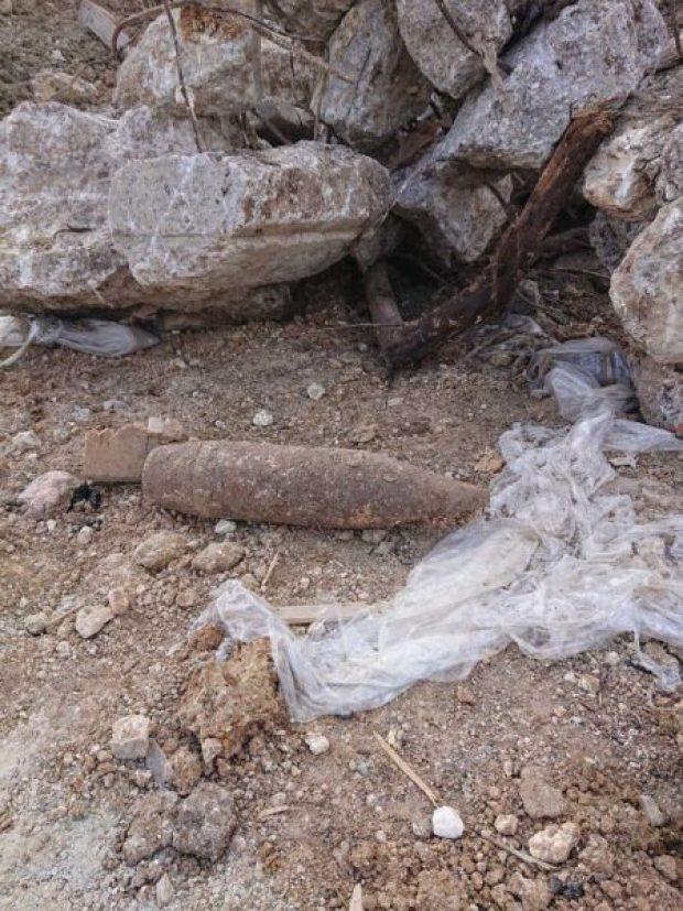 ЧП в Севастополе: у торгового центра обнаружили снаряд