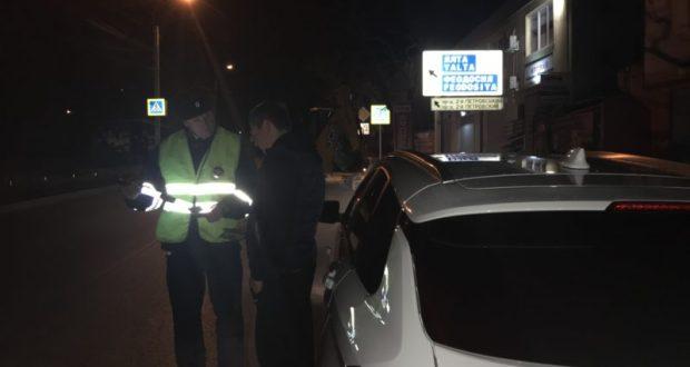 В Симферополе ГИБДД подводит итоги операции «Нетрезвый водитель»
