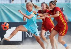 Марина Федорова из Севастополя признана лучшим игроком мира в женском пляжном футболе