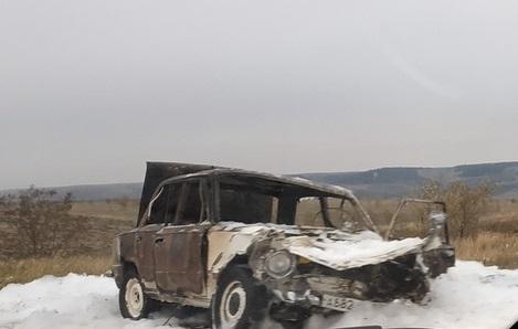Страшное ДТП на трассе «Симферополь – Николаевка». Сгоревшие «Жигули», погибший водитель
