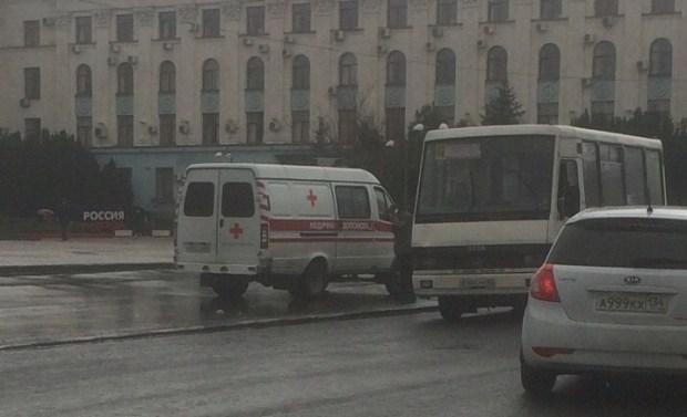В центре Симферополя маршрутка сбила пешехода. Однако, тенденция