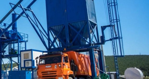 В Севастополе суд приостановил деятельность асфальтобетонного завода