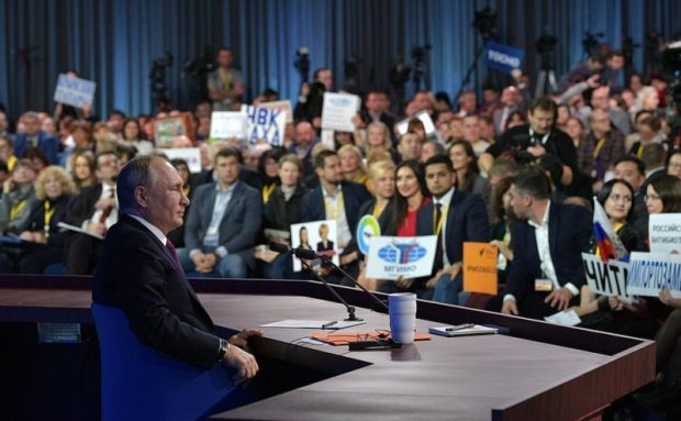 Пресс-конференция Президента России. Взгляд из Крыма