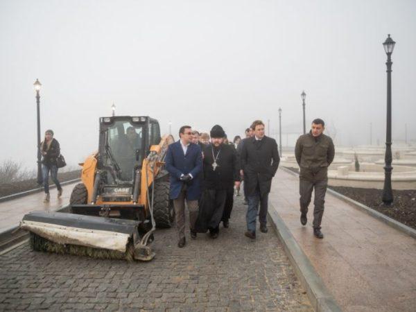 Реконструкцию территории у монастыря Святого Георгия на Фиоленте завершат к концу года