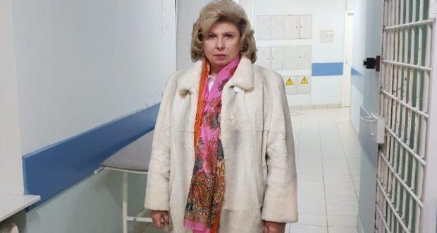 Омбудсмен Москалькова посетила трех раненых украинских моряков в «Матросской Тишине»