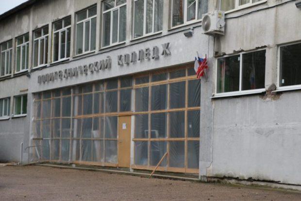 В пострадавшем от взрыва в октябре крыле здания Керченского политеха возобновились занятия