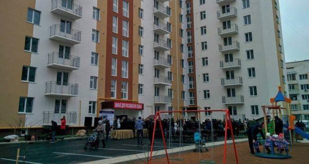 """В Евпатории сдали очередную многоэтажку в рамках программы """"Жильё для российской семьи"""""""