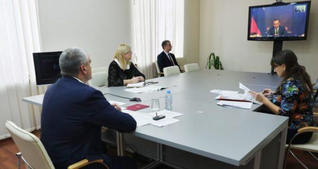Сергей Аксёнов принял участие в заседании по национальным проектам